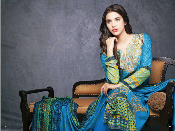 House Of Ittehad Fall Dresses 2014 For Women