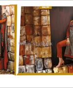 House Of Ittehad German Linen Dresses 2014-2015 For Winter 14