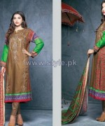 Ittehad Royal Embroidered Dresses 2014-2015 For Winter 2