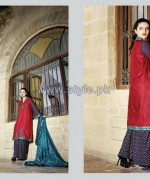 Ittehad Royal Embroidered Dresses 2014-2015 For Winter 3