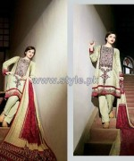Ittehad Royal Embroidered Dresses 2014-2015 For Winter 4