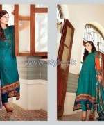 Ittehad Royal Embroidered Dresses 2014-2015 For Winter 7