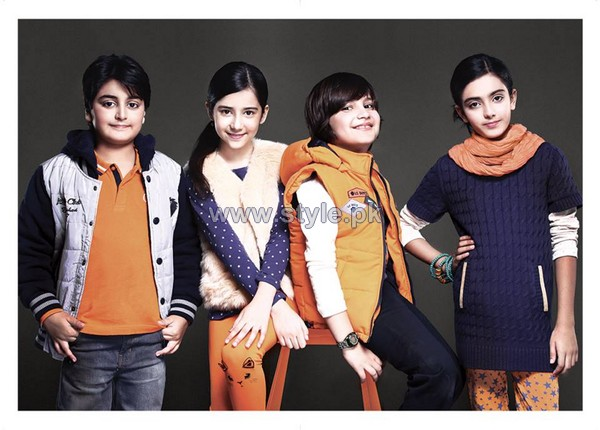 Leisure Club Winter Dresses 2014-2015 For Kids 4
