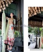 Mavi Designer Winter Dresses 2014 By Shariq Textiles 11