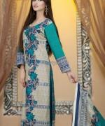Naveed Nawaz Textiles Khaddar Dresses 2014 For Girls 1
