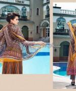 Rabea Designer Embroidered Dresses 2014 by Shariq Textiles 1