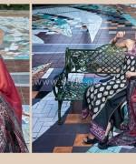 Rabea Designer Embroidered Dresses 2014 by Shariq Textiles 2