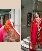 Rabea Designer Embroidered Dresses 2014 by Shariq Textiles 3