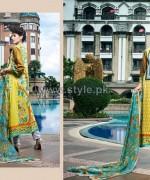 Rabea Designer Embroidered Dresses 2014 by Shariq Textiles 6