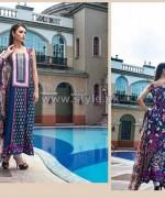 Rabea Designer Embroidered Dresses 2014 by Shariq Textiles 8