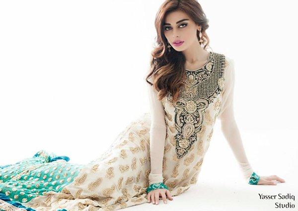 Rizwan Ahmed Formal Dresses 2014 For Women 001