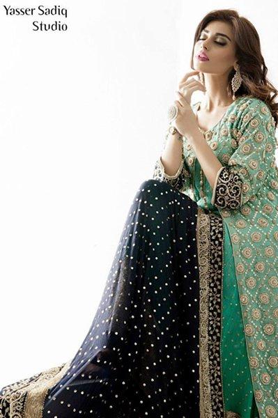 Rizwan Ahmed Formal Dresses 2014 For Women 006
