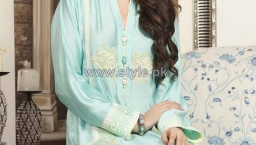 Sana Abbas Fall Dresses 2014 For Girls 4
