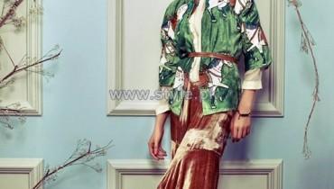 Sana Salman Autumn Winter Jackets 2014 For Women 8