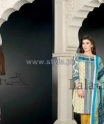 Sana Samia's Khaddi Dresses 2014 by Lala 6
