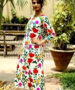 Sanober Azfar Casual Dresses 2014 For Girls 3
