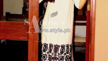 Sanober Azfar Casual Dresses 2014 For Girls 7
