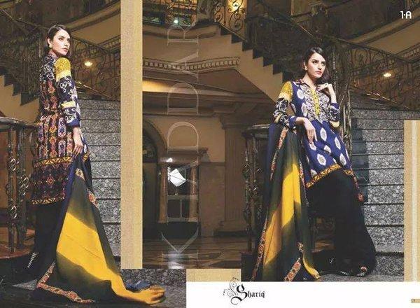 Shariq Textiles Khaddar Dresses 2014 For Women 002