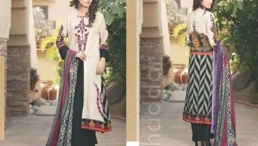 Shariq Textiles Khaddar Dresses 2014 For Women 003
