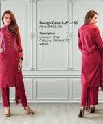 Warda Designer Winter Dresses 2014 For Women 005