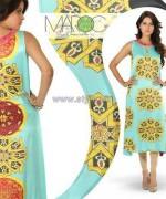 Yasmeen Jiwa Digital Print Dresses 2014 For Girls 1