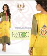 Yasmeen Jiwa Digital Print Dresses 2014 For Girls 2