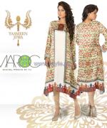 Yasmeen Jiwa Digital Print Dresses 2014 For Girls 4