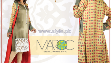 Yasmeen Jiwa Digital Print Dresses 2014 For Girls 6