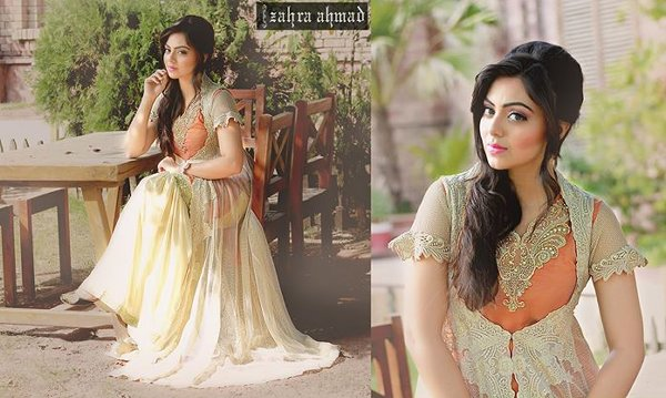 Zahra Ahmad Fall Dresses 2014 For Women 007