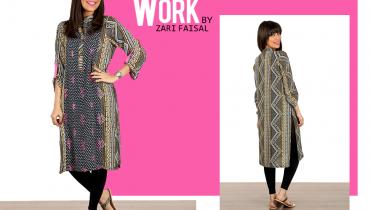 Zari Faisal Fall Dresses 2014 For Women 006