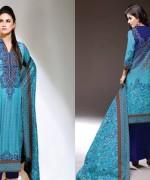 Al Hamra Textiles Winter Dresses 2014 For Women 001