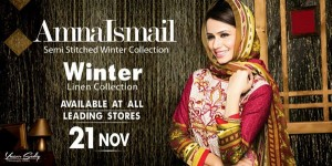 Amna Ismail Winter Dresses 2014 For Women 0012