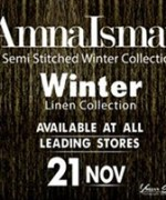 Amna Ismail Winter Dresses 2014 For Women 0014
