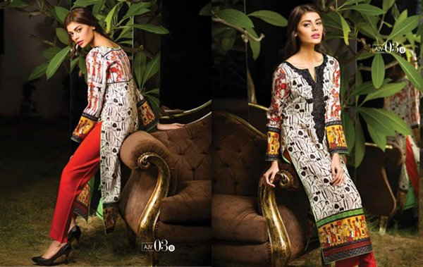 Asim Jofa Winter Dresses 2014 For Women 0012