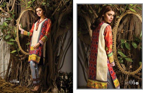 Asim Jofa Winter Dresses 2014 For Women 002