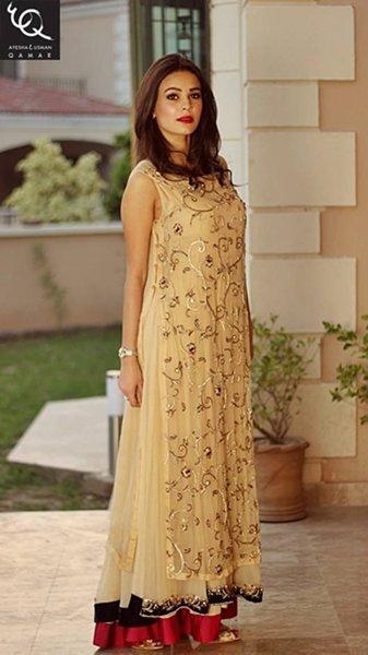 Ayesha And Usman Qamar Autumn Dresses 2014 For Women
