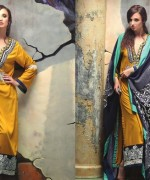 Ayesha Zara Woven Shawl Dresses 2014 by Al-Zohaib Textile 3
