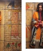 Ayesha Zara Woven Shawl Dresses 2014 by Al-Zohaib Textile 5