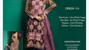 Bonanza Satrangi Winter Dresses 2014-2015 For Girls 4