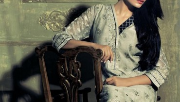 Ethnic by Outfitters Fall Winter 2014 Dresses For Girls 1