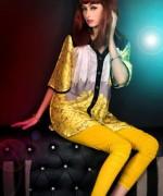 Evolution Textile western dresses 2014 for women 006