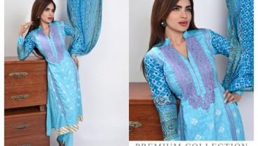 Ghani Textile Winter Dresses 2014 For Women 009