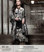 Gul Ahmed Winter Dresses 2014-2015 For Women 13