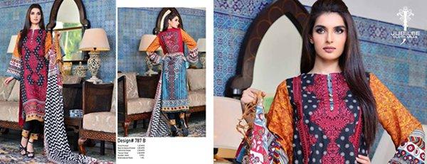 Jubilee Cloth Mills Winter Dresses 2014 Volume 5 For Women 0018