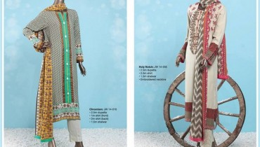 Junaid Jamshed Winter Dresses 2014-2015 For Women 1