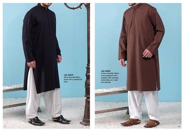 Junaid Jamshed Winter Dresses 2014 For Men