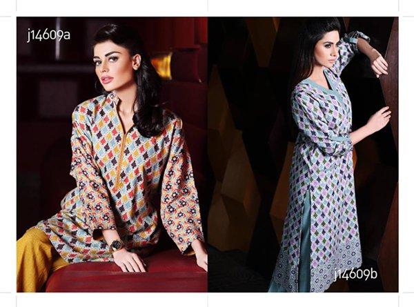 Khaadi Winter Dresses 2014 For Women 002