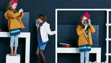 Kids Breakout Autumn Winter Dresses 2014 For Kids 1