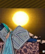 Mashaal Embroidered Shawl Collection 2014 By Lala Textile 3
