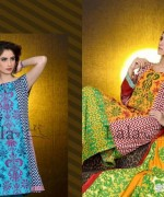 Mashaal Embroidered Shawl Collection 2014 By Lala Textile 4